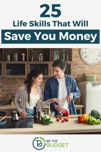 25 Life skills That Will Save You Money | Be The Budget