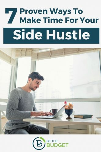 7 proven ways to make time for your side hustle | Be The Budget
